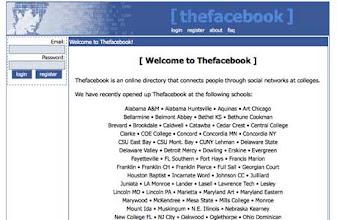 Photo: (The) Facebook (ca. 2005)