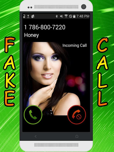 Fake Call and SMS