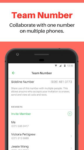 Sideline u2013 Second Phone Number 3.26.2 screenshots 5