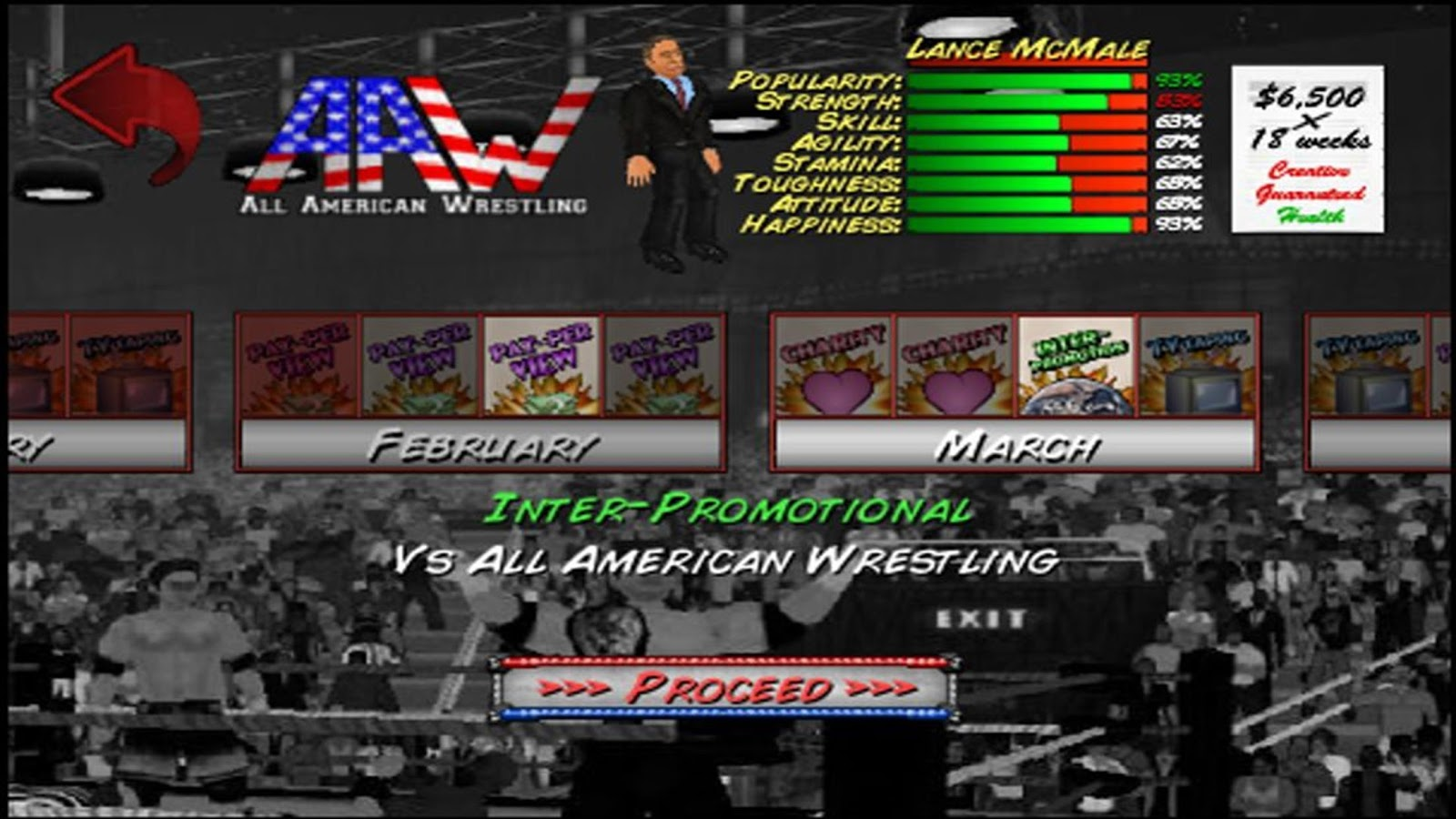 Screenshots of Wrestling Revolution for iPhone