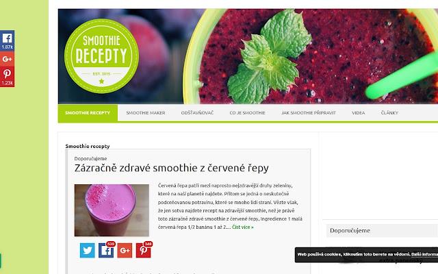 Smoothierecepty.cz - průvodce světem smoothie