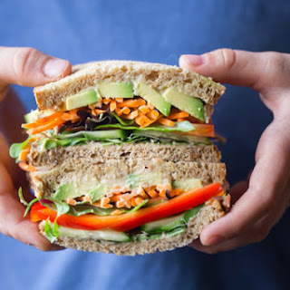 Power Veggie Sandwich