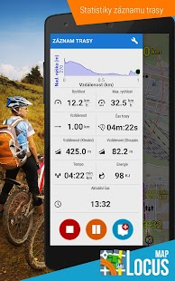 Locus Map Free - Outdoor GPS navigace a mapy - náhled