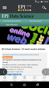 EPJ.org- screenshot thumbnail