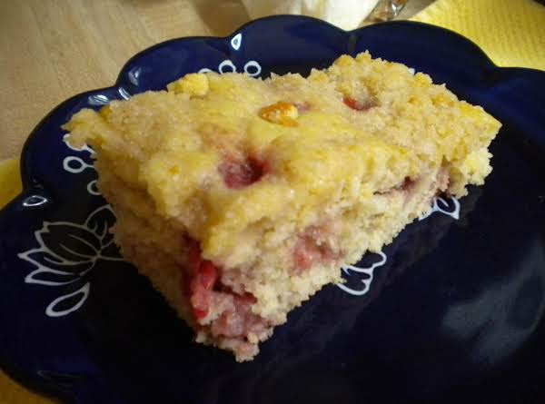 Strawberry Streusel Sheet Of Muffins Recipe