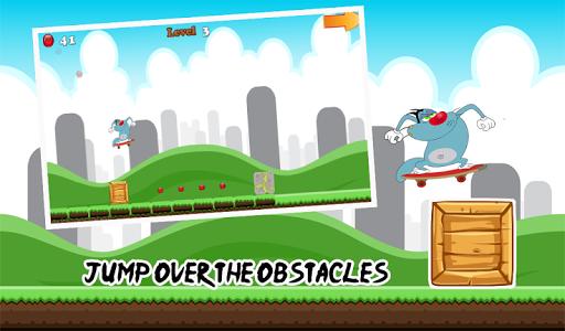 【免費冒險App】Oggy滑板冒險-APP點子
