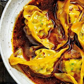 Steamed Chicken Wonton Recipes.