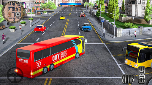 Modern City Coach Bus Driving Simulator: Bus Rider V1.0.7 screenshots 3