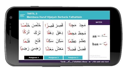 Belajar Baca Qur'an Metode Tartil - náhled