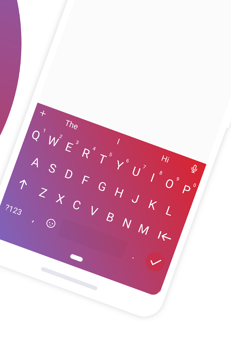 Chrooma - Chameleon Keyboard Screenshot 1