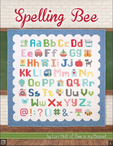 Spelling Bee by Lori Holt (14007)