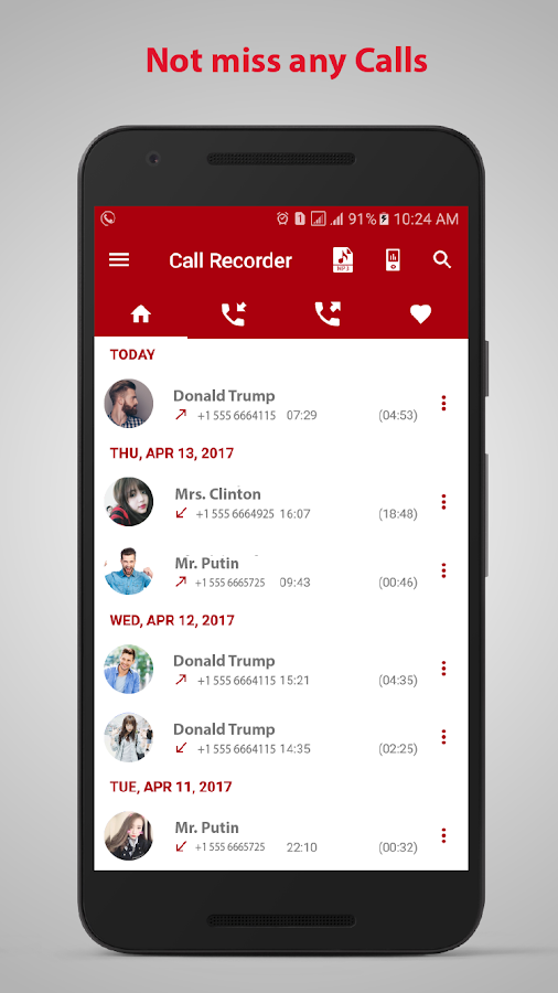 call recorder automatic- screenshot