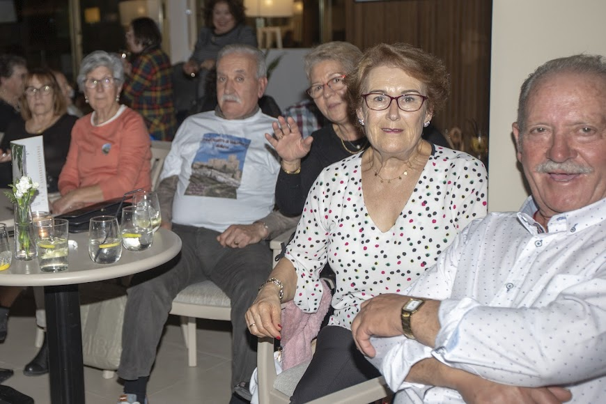 Asistentes llegados de Almería capital.
