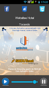 Websites Hotel - Web Rádio- screenshot thumbnail