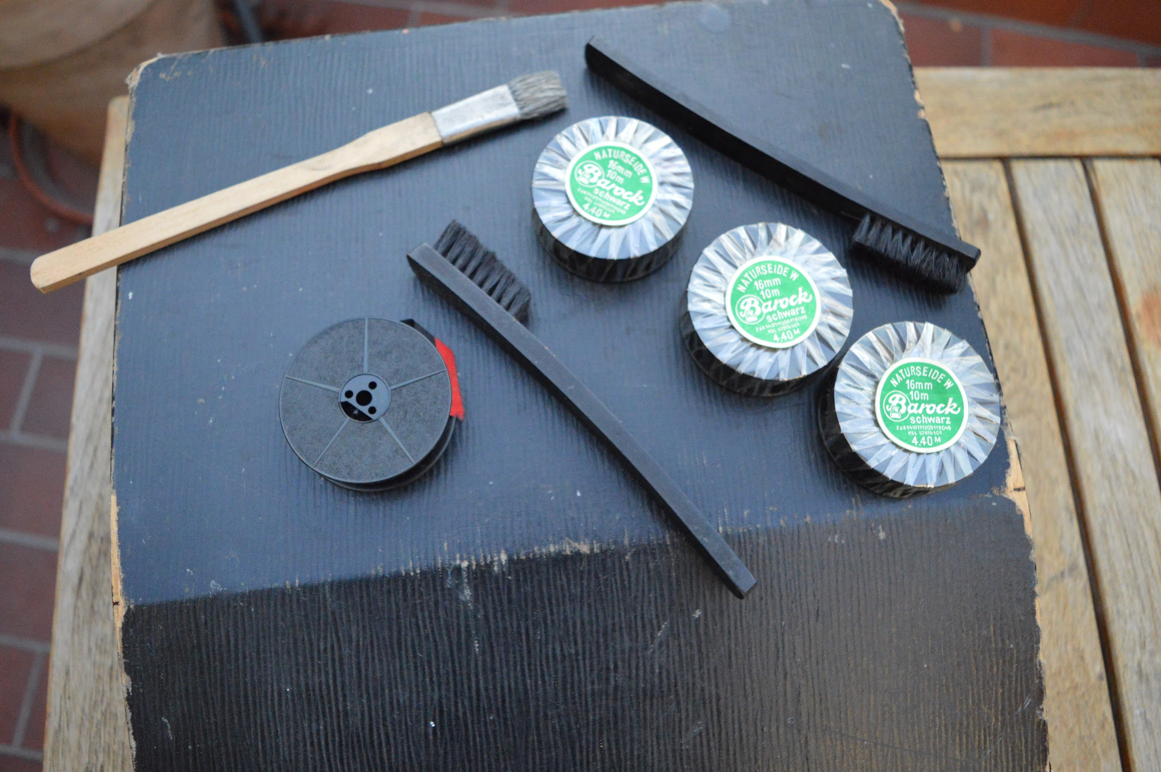 Remington Portable - Zubehör - Ersatzfarbbänder, Reinigungsbürsten