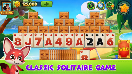 Solitaire TriPeaks Adventure - Free Card Game androidiapk screenshots 1