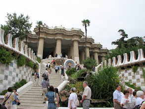 Photo: Entrance to Parc Guell.