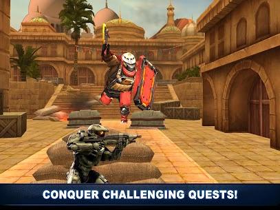 Robot Shooting War Games: Robots Battle Simulator 4