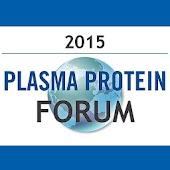 Plasma Protein Forum 2015