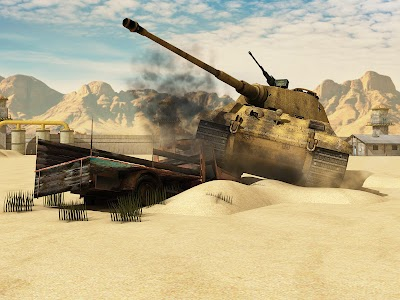 Tank Fury Blitz 2016 v1.0 (Mod Money/Ad Free)