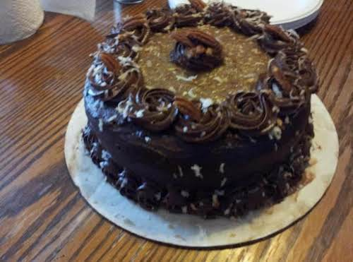 "Click Here for Recipe: Daddy's Birthday Cake - German Chocolate Cake ""Made..."