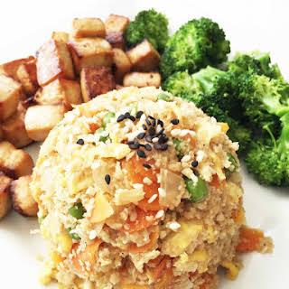 Cauliflower 'Fried Rice'.