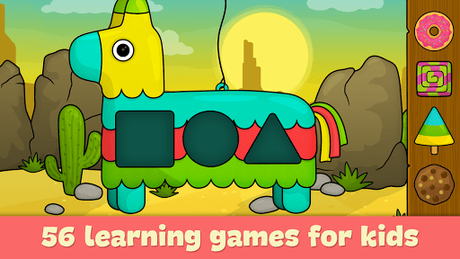 Learning games for toddlers age 3 screenshot 1