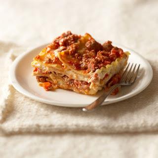 Gluten-Free Lasagna.