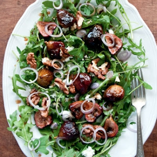 Honey-Balsamic Roasted Fig Salad.