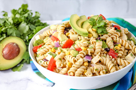 Millie's Holy Guacamole Pasta Salad Recipe