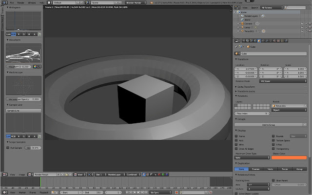 Blender on rollApp
