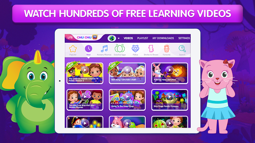 ChuChu TV LITE Best Nursery Rhymes Videos For Kids 4.5 screenshots 1