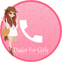 Pink Caller Screen Dialer icon