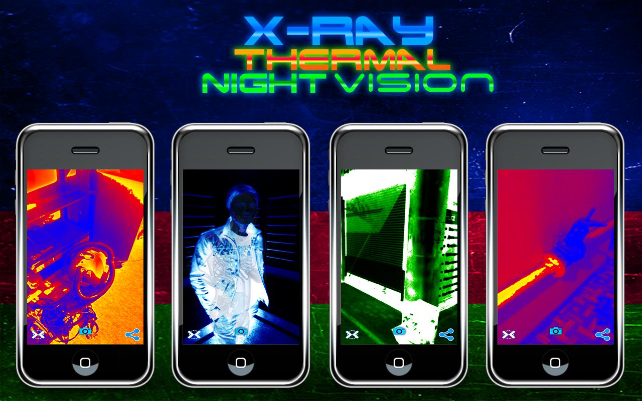 Xray Thermal Night Camera Pack