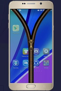 Lastest Transparent Zipper Lock Screen APK