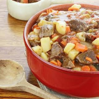 Homestyle Beef Casserole.