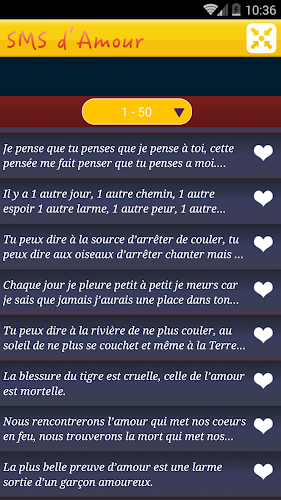 Download Sms Damour 2017 Apk Latest Version App By Apps