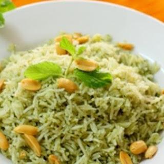 Nasi Pudina (Mint Rice)