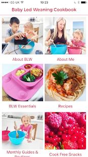 Baby-Led Weaning Recipes - náhled