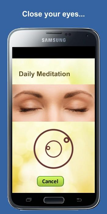 Daily Meditation- screenshot