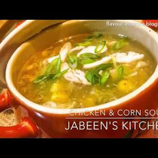 Chicken & Corn Soup.