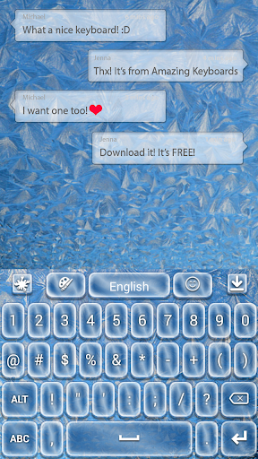 玩免費個人化APP|下載冷凍テーマ app不用錢|硬是要APP