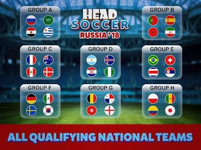 Head Soccer Russia Cup 2018: World Football League 9