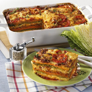 Veggie and Beef Lasagna