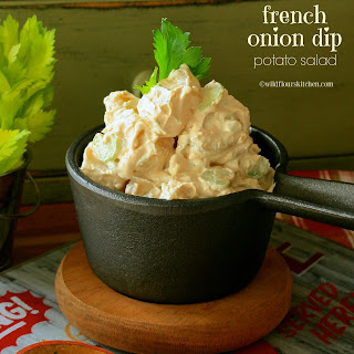 French Onion Dip Potato Salad