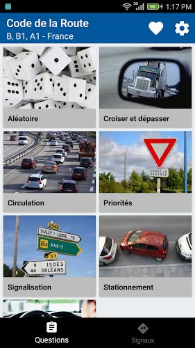 Code de la Route - France - Permis 2018 Android App Screenshot