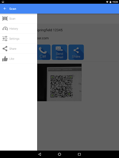 QR & Barcode Scanner PRO app for Android screenshot