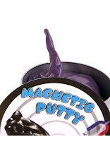 Lila magnetiskt slime i burk