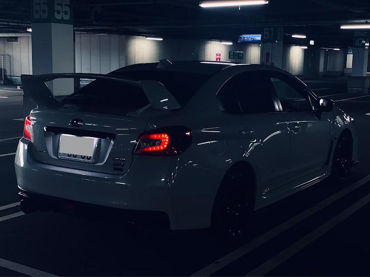 WRX S4 VAGの立体駐車場,仕事帰りにに関するカスタム&メンテナンスの投稿画像2枚目