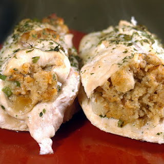 Italian Stuffed Chicken Breasts.